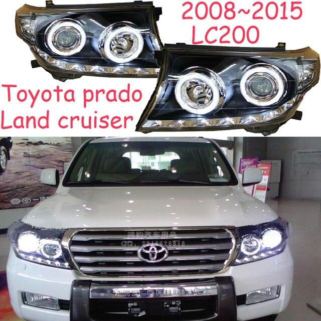 HID, 2008 ~ 2015, 크루저 헤드 라이트, 프라도, LC200, 비오스, RAV4, 캠리, 하이어스, 시에나, 야리스, 타코마, 크루저 헤드 램프 용 자동차 스타일링