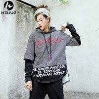 HZIJUE 2017 Fashion New Hoodies Brand Men Stitching Sweatshirt Male Men S Sportswear Hoody Hip Hop