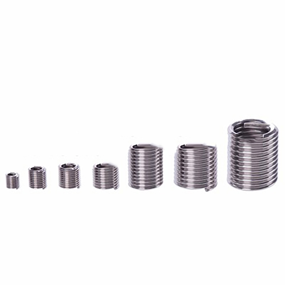 60pcs M3 M12 Stainless Steel 304 threaded Sheath Repair Insert Kit Wire Braces Bushing Screws Threaded Sheath M4 M5 M6 M10 M12 in Nuts from Home Improvement