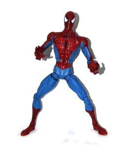 """Image 1 - ML Toy Biz Legends Icons Amazing Spider Spidey 2006 Classics 12"""" Loose Action Figure Rare TOY FREE SHIPPING"""