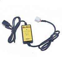 Auto USB Adapter MP3 Audio Interface SD AUX USB Daten Kabel Verbinden Virtuelle CD Wechsler für Honda Acura Accord Civic odyssey