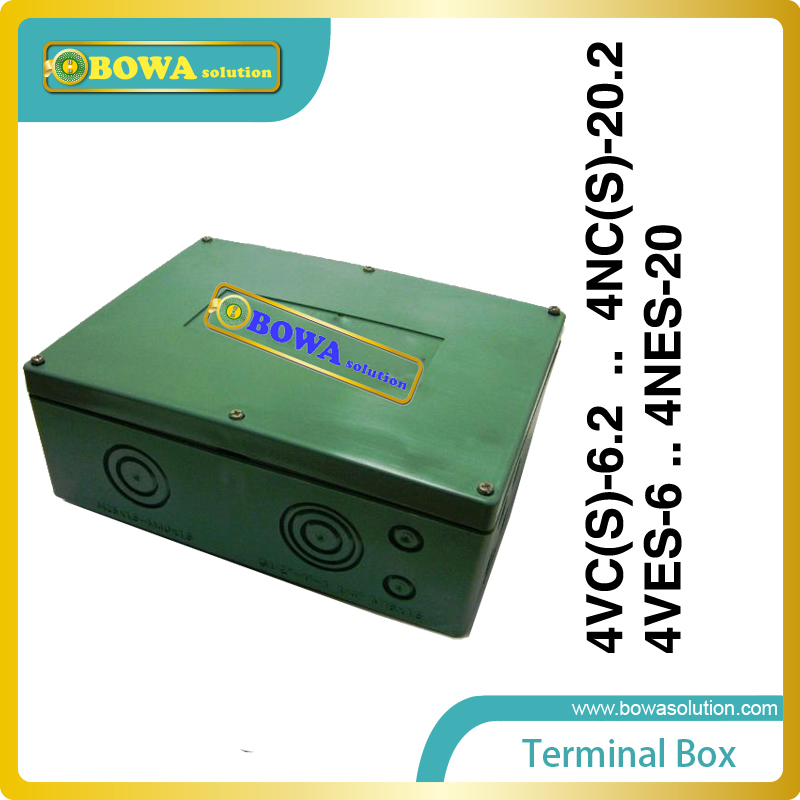 M4  terminal box for  4VC(S)-6.2..4NC(S)-20.2 and 4VES-6 ..4NES-20 compressor kid s box 2ed 6 pb