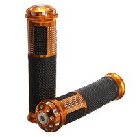 Universal Rubber Motorcycle 7 8 Inch Handlebar Grips Motorbike Throttle Handle Hand Bar Ends Fit For