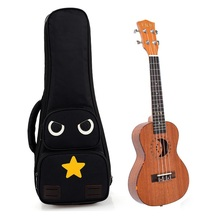 Shakeproof thickening 21inch,23inch,26inch thicken Ukulele bag,owl style guitar backpack,popular small guitar bags