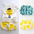 2016 primavera verano bobo choses frutas niño verano pantalones cortos bebé calabaza pantalones cortos niño niños pantalones de bebé ropa de bebé chica