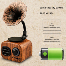 Retro Mini Radio Portable USB Bluetooth Speaker Support Card Vintage AM FM Receiver Pocket Shortwave Home Stereo Gift #2
