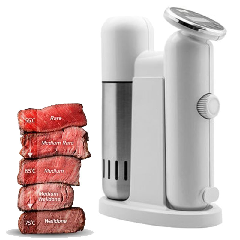 Food Sous Vide Precision cooker Low temperature slow cooking machine beef steak baking processor 1100W 110V-240V 50HZ-60HZ thgs digital kitchen probe thermometer food cooking bbq meat steak turkey wine