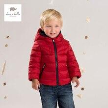DB4369-P DAVEBELLA baby boy down jacket children winter outerwear kids padding jacket