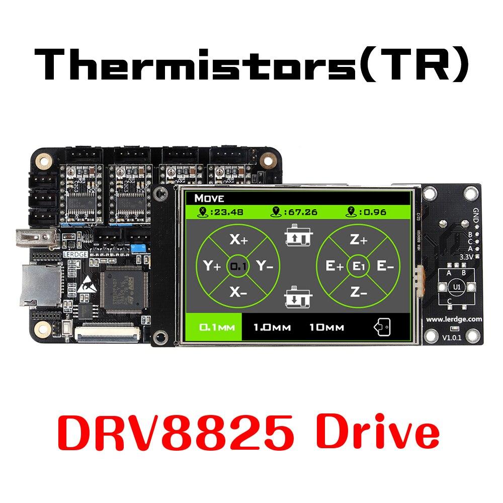 LERDGE-X 3D Imprimante contrôleur pour Reprap 3d imprimante carte mère avec BRAS 32Bit Mainboard contrôle avec 3.5