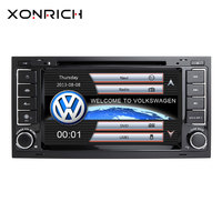 2 Din Car Multimedia DVD Player For VW/Volkswagen/Touareg/Transporter T5 2004 2005 2006 2007 2011 AutoRadio Audio GPS Navigation