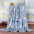 2016 Oferta Especial Venda Apressado Primavera Swaddle Cobertores Do Bebê Recém-nascido Cobertor de Flanela Ar Condicionado Folha de Cama Macia 150*200 cm