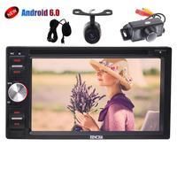 Voiture Stéréo Android 6.0 en Dash Écran Tactile Autoradio dvd cd GPS Navigation Autoradio DVD Player support Wifi OBD2 + Double caméras