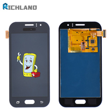 цена на Can Adjust Brightness LCD For Samsung Galaxy J1 Ace J110 SM-J110F J110H LCD Display Touch Screen Digitizer Assembly Replacement