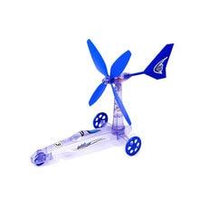 Wind Energy Power Car, Scientific Experiment Children's Educational STEM Toys