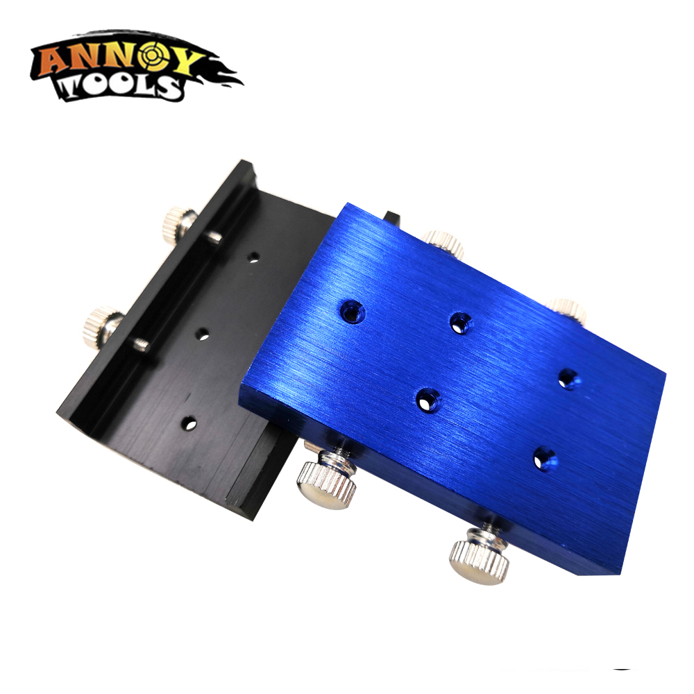 Image 3 - 33mm Laser Cooling Pad Heat Laser Module Holder Heat Sink Mini Laser Engraving Machine Laser CNC Parts+Four Hand Screws-in Woodworking Machinery Parts from Tools