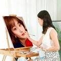 Картина маслом по номерам YIJIE на заказ, для портрета, свадьбы, семьи, сделай сам, на холсте