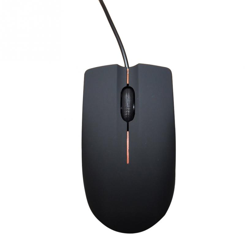 Mouse-Gaming Wired Optical-Usb Click Mini Silent Surface-Pro Cute 1200 Mice DPI Frosted