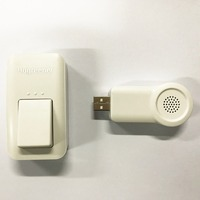 DC5V USB Wireless Doorbell With No Battery Mini Home High Quality Door Bell 433MHz 80m Distance