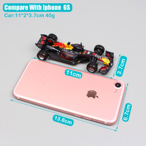 Image 2 - Kinder Maßstab 1:43 BBurago Racer RB15 SF71H SF90 Kimi Räikkönen Charles Leclerc Sebastian Vettel diecast modell fahrzeug auto spielzeug 2019