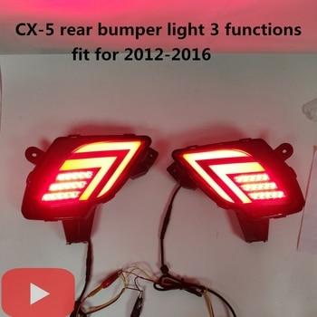 LYQ For Mazda CX-5 CX5 2012- 2016 LED Rear bumper light brake lamp driving light running lamp car-styling Tail light assembly