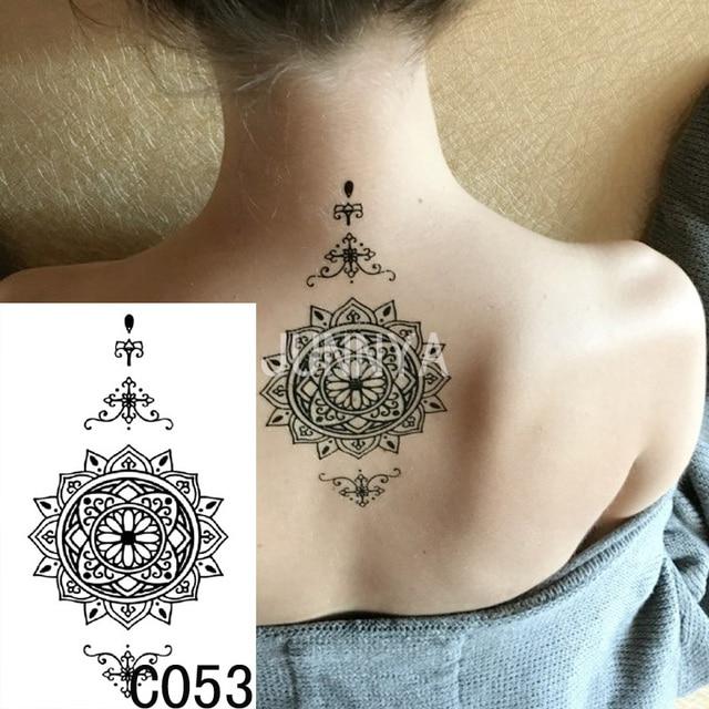 19x12cm Waterproof Temporary Tattoo Stickers Women Body Art Tatoo