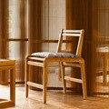 Cadeira DE Jantar De BAMBU Bambu ZEN'S Encosto Da Cadeira De Madeira Cadeira de Jantar/Mobília da sala de estar