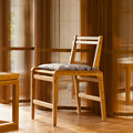 ZEN'S BAMBOO Dining Chair Bamboo Chair Wooden Backrest Chair Diningroom/living room Furniture