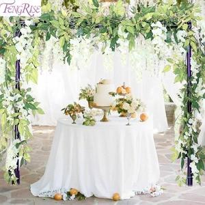 Image 5 - FENGRISE 80cm 1pcs Artificial Flowers Vine Ivy Leaf Fake Plant Artificial Plants Green Garland Home Wedding Party Decoration