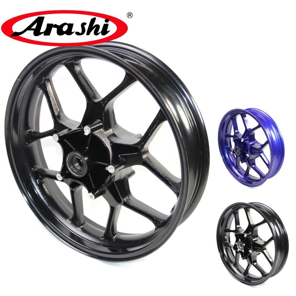 Arashi YZF R1 2015-2017 Front Wheel Rim Rims For YAMAHA YZF-R1 2015 2016 2017 Glossy Black 15 16 17 6061-T6 Aircraft grade