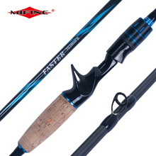 MIFINE FASTER CASTING and SPINNING 1.8M 2.1M 2.4M 3 Section Lure Ultra light FAST High Carbon fishing rod 7-28g M/MH line 6-20LB стоимость