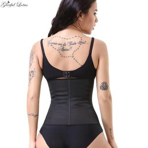 Image 3 - Latex Waist Trainer Body Shapewear Slimming Belt Modeling Strap Slimming Sheath Women Plus Size Waist Cincher Colombian Girdles