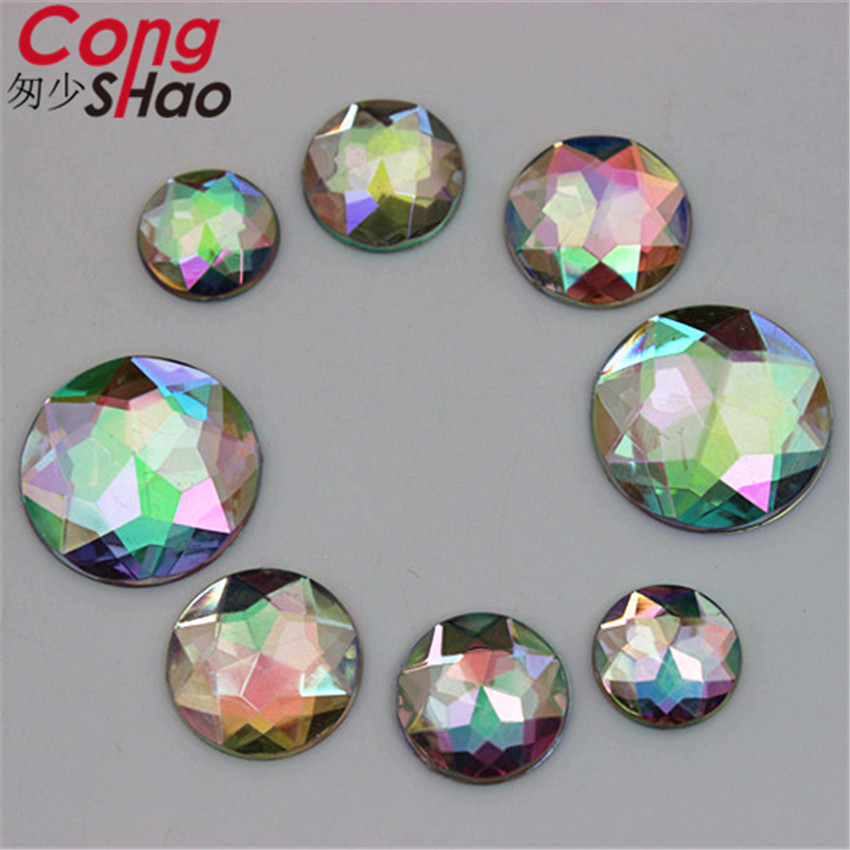 ... Colorful flatback Butterfly Acrylic Rhinestone applique stones and  crystals. US  2.38. Cong Shao 100pcs 12 14 16 18 20mm AB Clear Round Acrylic d1cda54257fb
