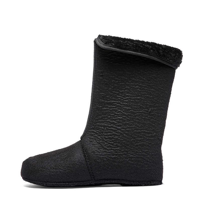 VESONAL 2019 kış kamuflaj kar erkek botları yağmur ayakkabıları su geçirmez kürk peluş sıcak erkek rahat orta buzağı iş balıkçı çizme