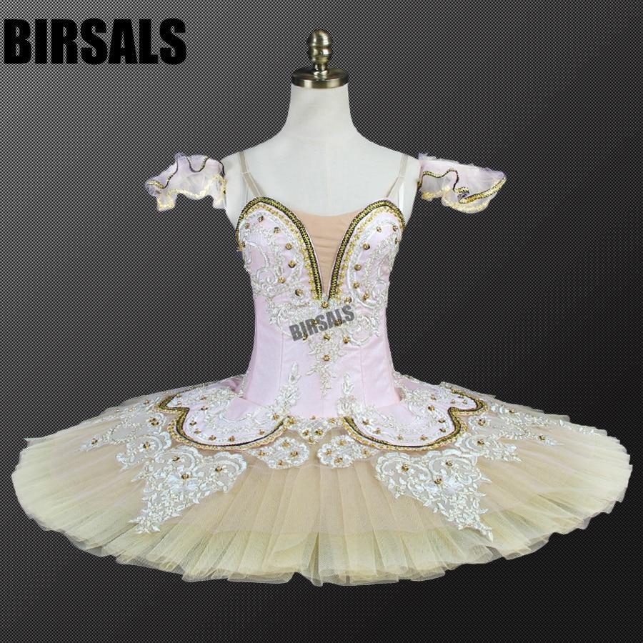 Adult Sleeping Beauty Pink Professional Ballet Tutu Girls Classical Tutus BalletBT9044C