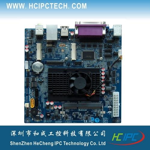 HCIPC M424 1 ITX HCM10X61B C1037 Mini ITX font b Motherboard b font 6COM 2Mini PCIE