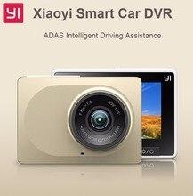 Original International Xiaomi YI Smart Car DVR WiFi Xiaoyi Dash Camera 165 Degree ADAS 1080P 60fps 2.7Inch action camera