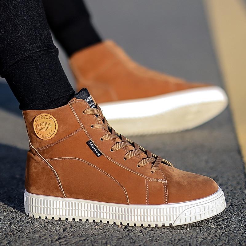 Alta De Primavera chocolate Sapatos Homens Casual Novos Vulcanizada Qualidade Lona E Shoesblack Laço cinza Moda Dos Outono Preto Sapatas Definir No 4FwRX