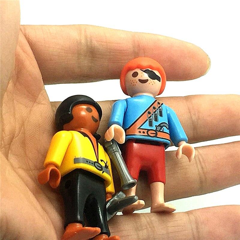 Original Playmobil Figure Pirate Kid Action Figures Kids Best Toys Gift