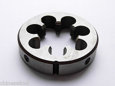 1pc Metric Left Hand Die M48 X 2mm Dies Threading Tools 48mm X 2.0mm pitch 48mm x 1 metric right hand die m48 x 1 0mm pitch