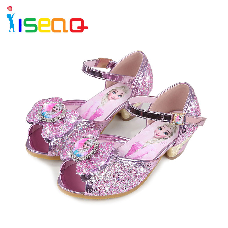 Girls sandals children else and anna shoes for girls fashion summer cartoon shoes toddler chaussure enfants fille sandalias in Sandals from Mother Kids