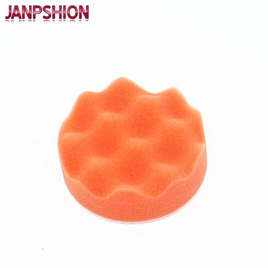 JANPSHION 20PC 80mm automobilių poliravimo buferio pagalvėlės, - Elektriniai įrankiai - Nuotrauka 2