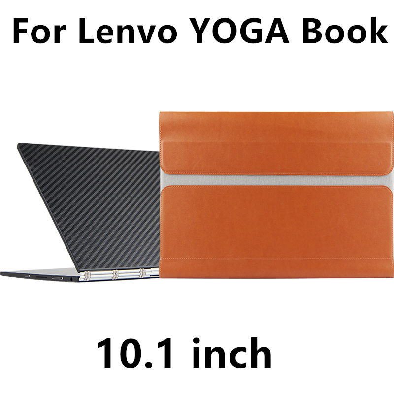 все цены на  Case For Lenovo YOGA BOOK Sleeve Protective Smart cover Faux Leather Tablet PC For yoga book 10.1 inch PU Protector Cover pouch  онлайн