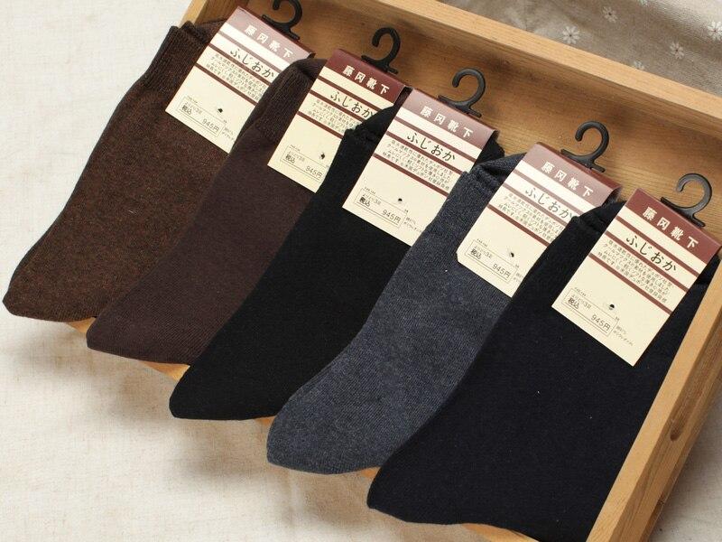 2018 Cotton Socks High Quality Classic Business Socks Men's Brand Casual Spring Socks Man 1 Lot=5 Pairs