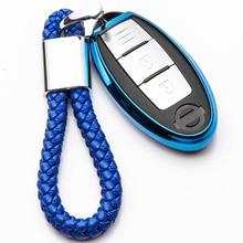 KUKAKEY TPU Car Key Case Cover For Infiniti Q50 FX35 QX70 Q30 G35 FX37 G37 FX QX80 Q70 Key Ring Shell Accessories все цены