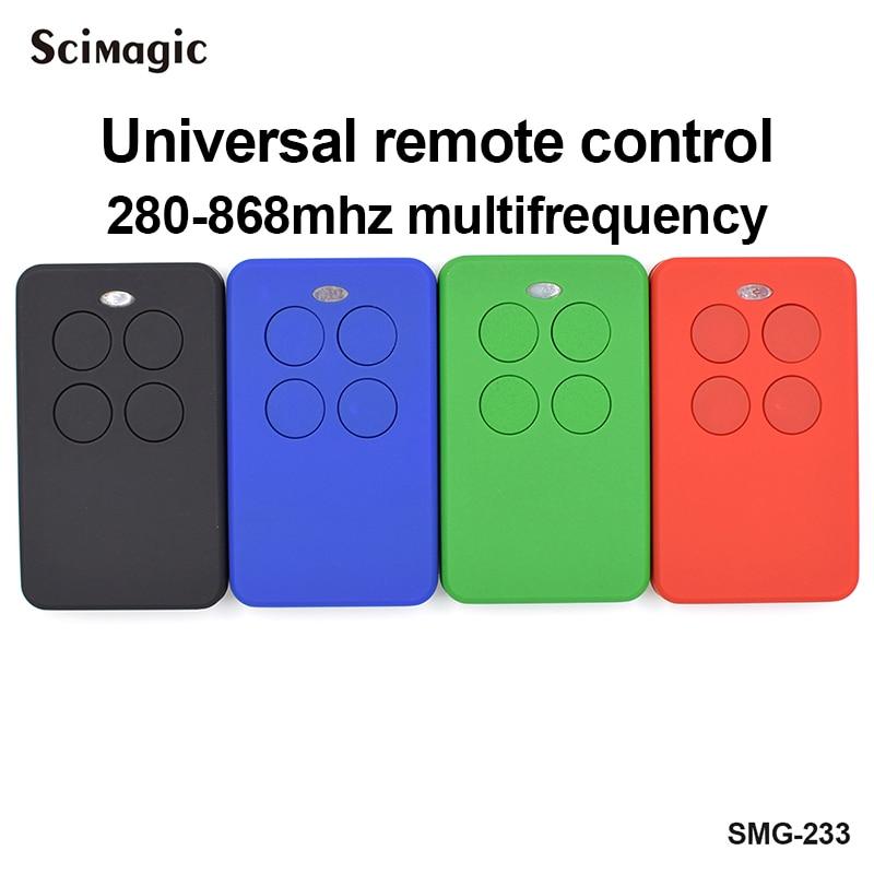 Télécommande universelle pour Clemsa Mastercode MV1 télécommande Clone universelle porte-clés 433 MHz 280-868 mhz commande de porte de garage