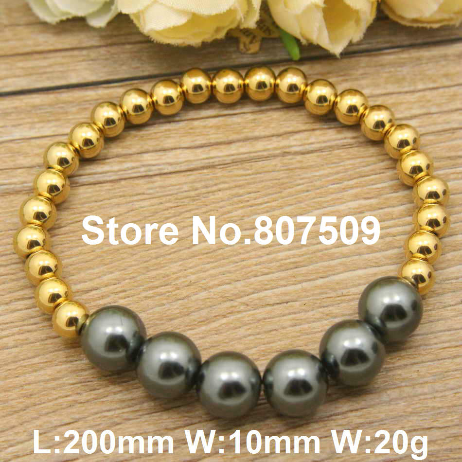 New Hot !!gold color and silver color Fashion Jewelry Stainless Steel lovely Bracelets for women and girl BEUGAFAH(China)