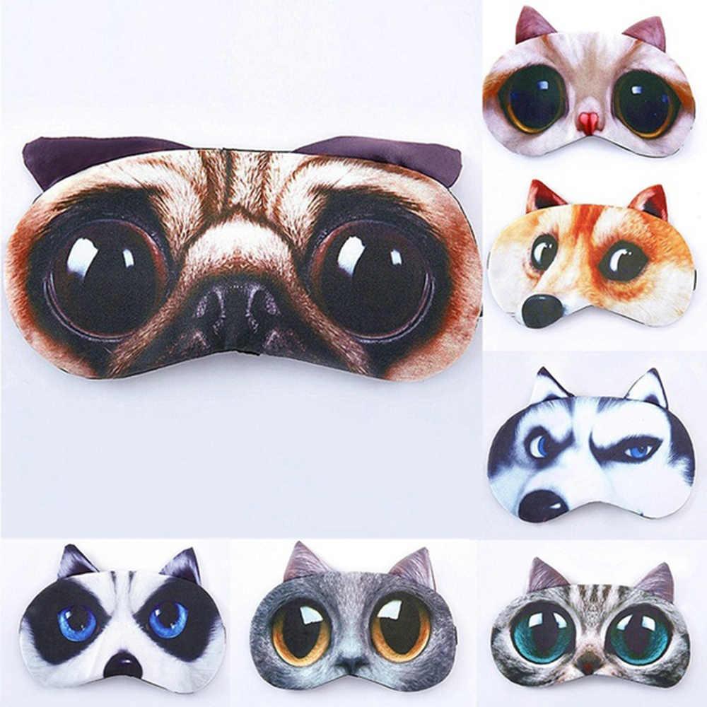 f93760ae5d0 1Pcs Cute Sleep Mask Eye Mask Eyeshade Cover Shade Natural Sleeping Eye  Patch Women Men Soft
