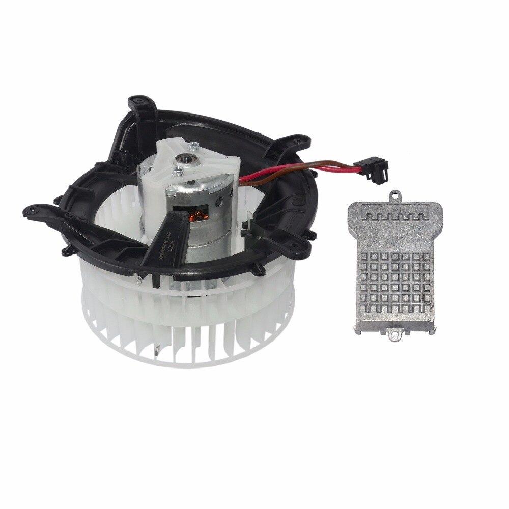 AP02 LHD Heater Blower Motor& Blower Motor Regulator For Mercedes W210 W220 S210 C215  2208203142