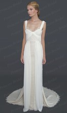 Free Shipping 2014 Cute Lovely Sexy Mermaid Straps Sweetheart Backless Sweep Train Cheap Wedding Dresses Made In China MD161