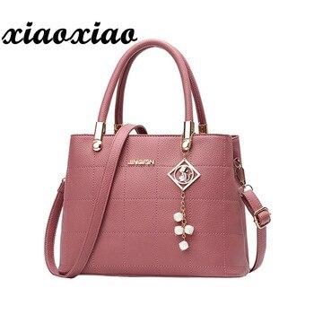 Bolso Mujer Ladies Brand Leather Handbags Fashion Casual Tote Bag Big Shoulder Bag For Woman Hot Sale Bolsa Feminina 1012 tote bag